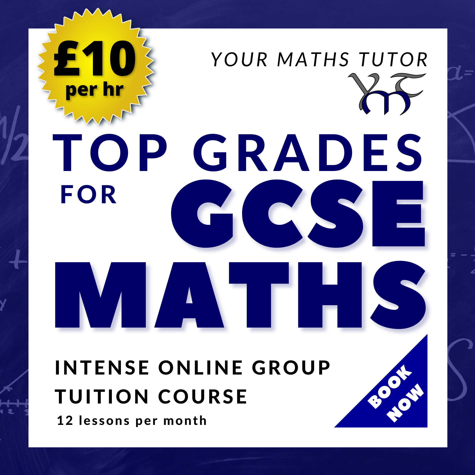 Top Graders GCSE Maths Online Group Course